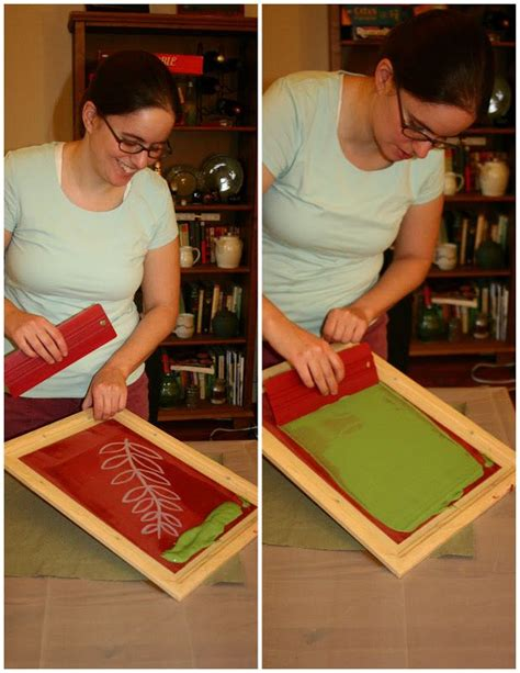 diy reusable screen printing press diy projects