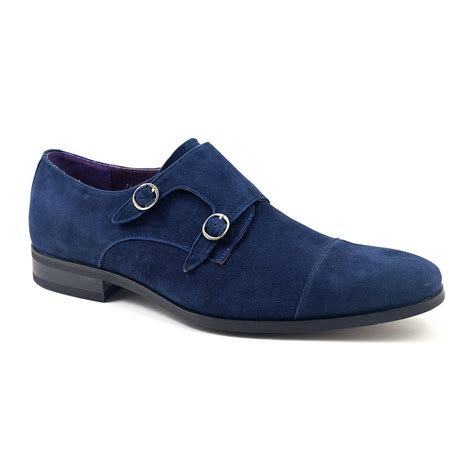 From Designer Shoes To Designer Zip Codes Newsvine Fashion 2 by Buy Blue Suede Monk Shoes For Gucinari Style