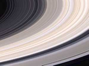 what color is saturn s rings nasa saturn s rings offer a fresco of color
