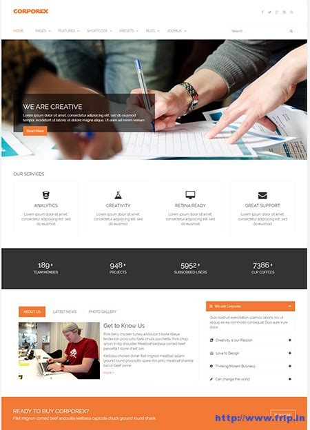 best joomla templates for business 50 best corporate business joomla templates 2016 frip in