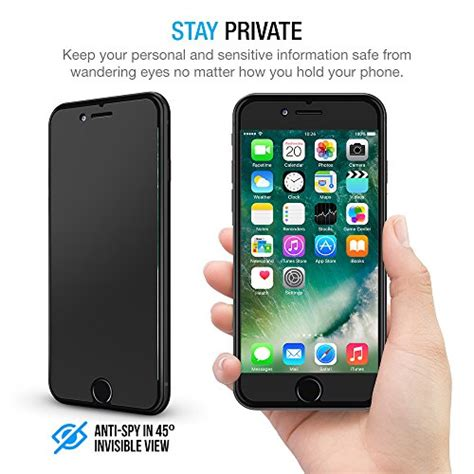 Iphone 7 Anti Privacy Tempered Glass Screen Guard Protector Kuat iphone 7 plus screen protector maxboost privacy black iphone 7 plus screen privacy screen