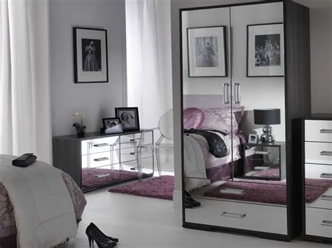 cheap mirrored bedroom furniture sets mirrored king bedroom set home design ideas