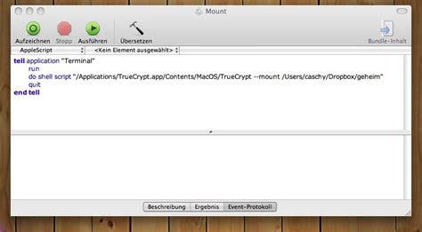 wann muss ein dienstplan aushängen truecrypt container unter mac os x automatisch mounten