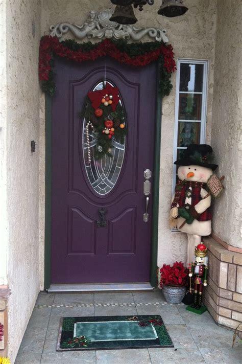images  purple front doors  pinterest