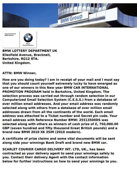 scammers luring users with bmw x6 autoevolution