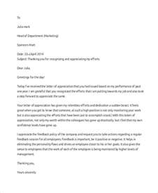 sle professional thank you letter 7 documents in pdf
