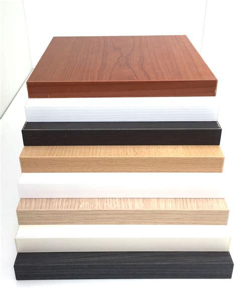 mensole legno su misura mensole su misura in nobilitato spessore 25 mm