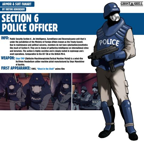 section 6 movie section 6 police officer ghost in the shell by pino44io on