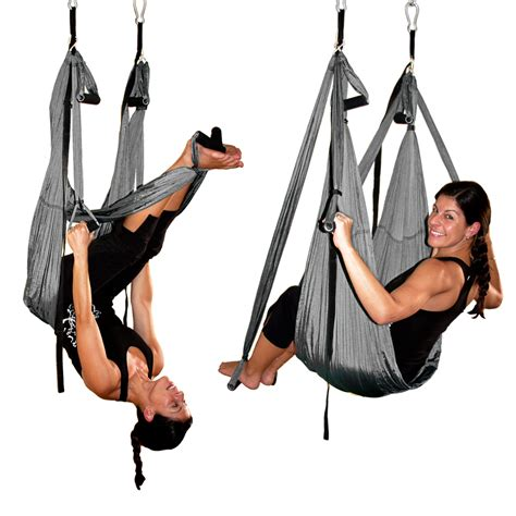 yoga inversion swing silver gravotonics aerial yoga inversion swing st