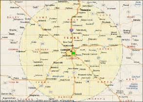 map of and surrounding cities lubbock map