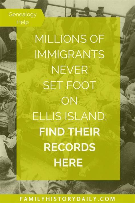 Meet A Called On Island Records by Ellis Island On Ellis Island Immigrants