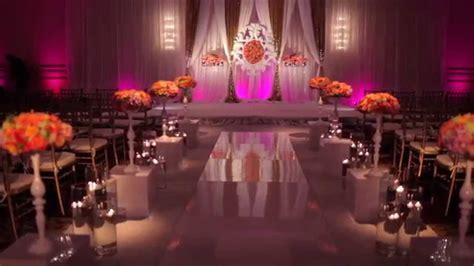 Boston Indian/American Wedding Mandap, Decor, and Floral