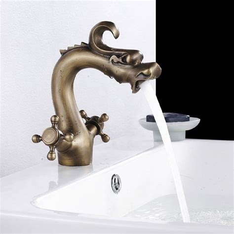 fancy bathroom faucets fancy dragon bathroom sink faucet