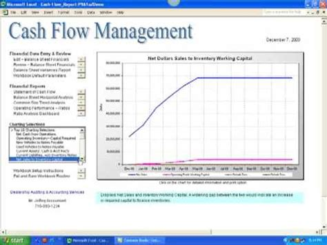 exle cash flow analysis report excel workbook for analyzing and managing auto dealership