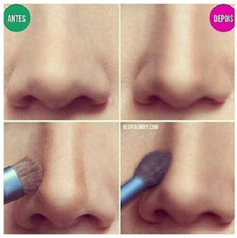 tutorial make up natural untuk hidung pesek how to get a perfect nose shape by makeup pretty designs