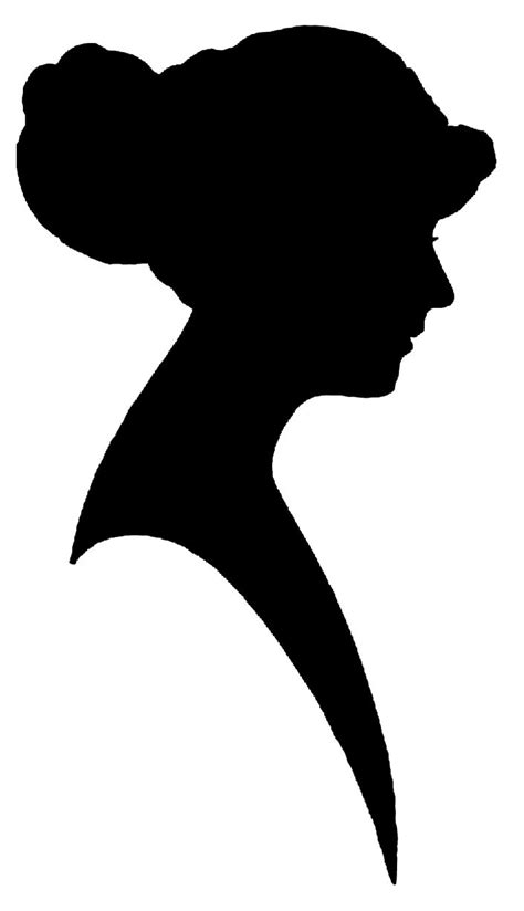 free silhouette images vintage woman silhouette png 705 215 1226 silhouette