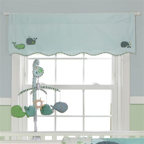 Nursery Valance Curtains Window Treatments For Baby Nursery Bridal Shower Www Divasthathack