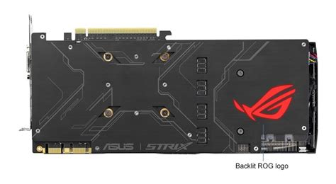 Asus Strix 1080 A8g Graphics Card asus unveils cheaper gtx 1080 strix a8g graphics card