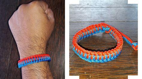 Gelang Prusik Paracord Bracelet Murah diy tutorial cara membuat gelang tangan dari tali kur bagian 7 the genoese survival bracelet