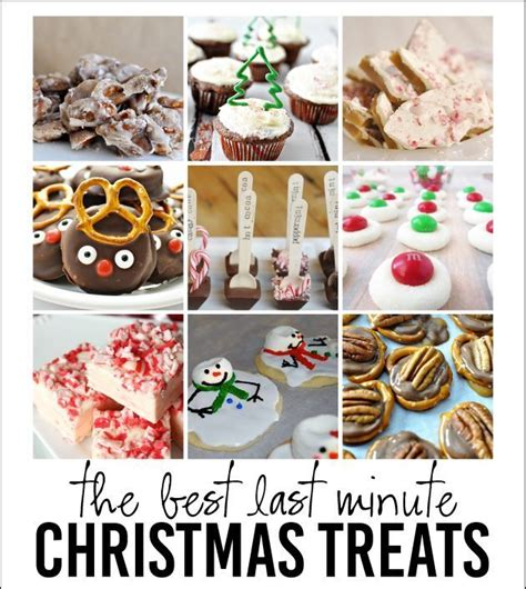 last minute christmas treats