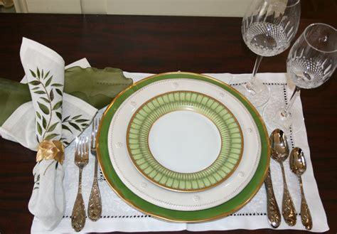 Dining Room Table With Butterfly Leaf by One Table Setting Four Different Ways
