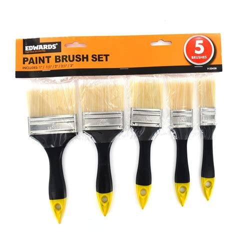 home decorating tools new 5 piece diy paint brush set painting home decorating