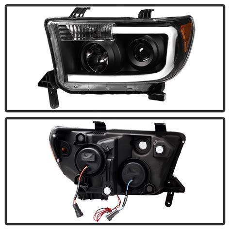 Toyota Tundra Led Headlights Hid Xenon 07 13 Toyota Tundra Led Drl Optic Projector