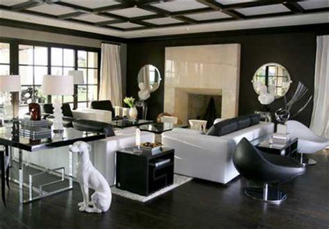 modern glamour home design home decor hollywood regency trista lerit wedding
