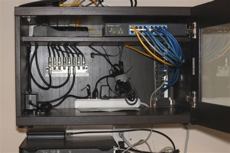 Home Network Cabinet by Home Network Wiring Cabinet Hackers Hackers