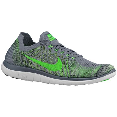 Nike Free Flyknit 4 0 4 4 0 nike free runs green and grey flyknit provincial