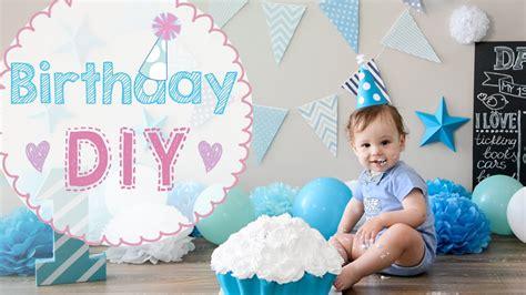 1 Birthday Ideas - baby birthday 1 year diy cake crash how to make