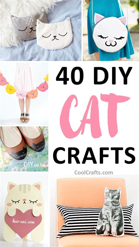 diy cat crafts 40 cutest cat crafts you can make with your cool crafts