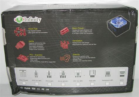 infinity in08 450 450w power supply review
