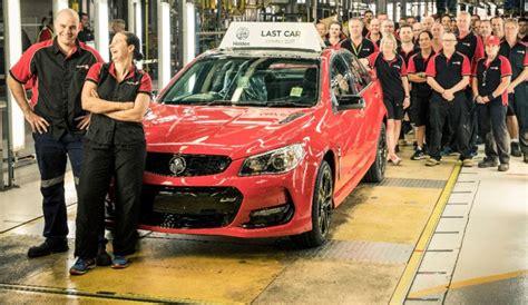 gm holden australia australian car production ends as gm holden closes plant