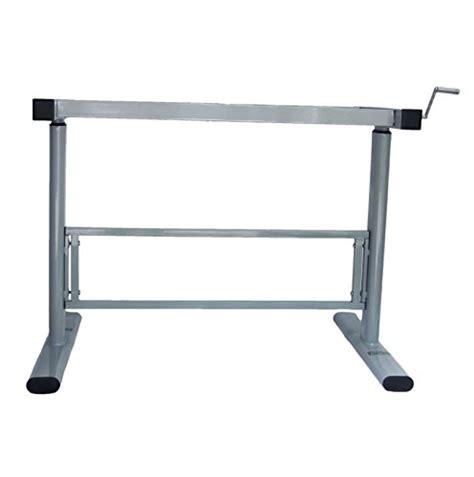 stand up sit down desk adjustable manual height adjustable standing desk leg frame stand up