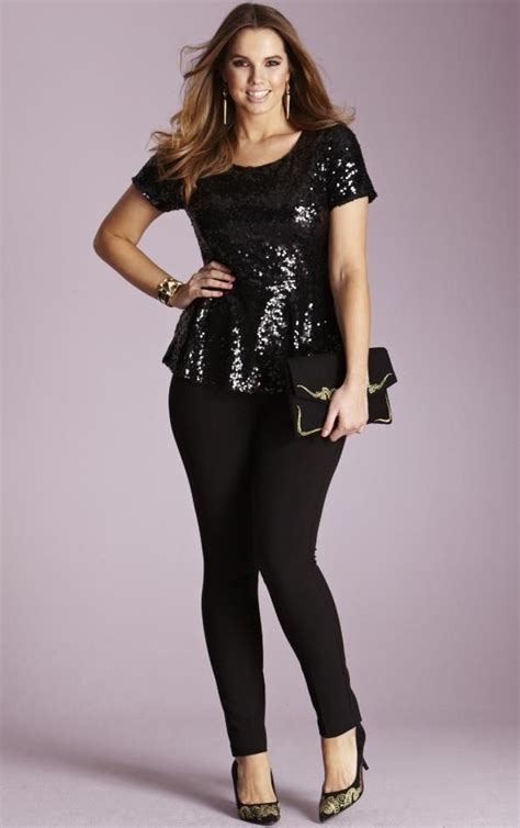 size sequin outfits   wear sequin  curvy women