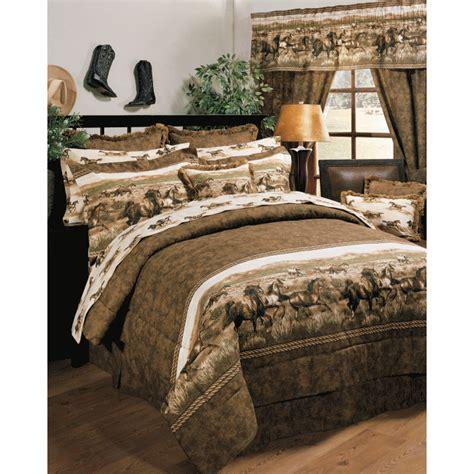 horse comforters bedspreads wild horses comforter set by kimlor