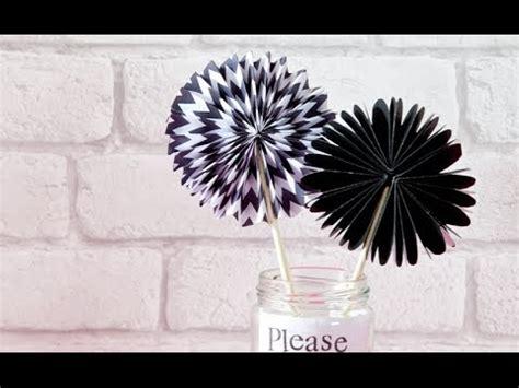 fan craft how to make a paper fan craft tutorial