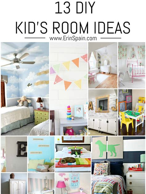 diy kids bedroom ideas 13 diy kid s room ideas erin spain
