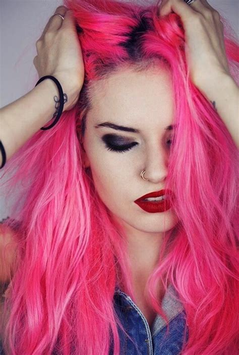 hair pink 25 best ideas about pink hair on bright