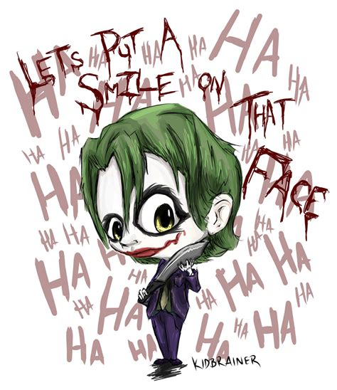 cute joker wallpaper joker by kidbrainer on deviantart