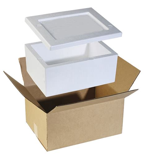 Sterofoam Box Package cookstone packaging and transport