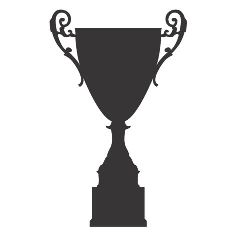cup silhouette png trophy cup silhouette 5 transparent png svg vector