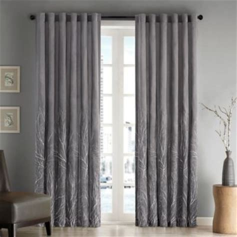 Grey Window Curtains Buy Grey Curtain Panels From Bed Bath Beyond