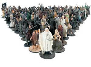 Fantasy Chess Set lord of the rings figurine collection sci fi amp fantasy