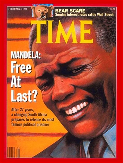 Covers South Africa time magazine cover nelson mandela feb 5 1990 nelson mandela south africa apartheid