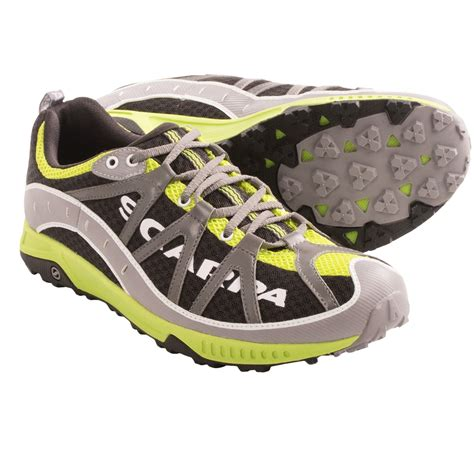 scarpa running shoes scarpa spark trail running shoes for 8227m save 70
