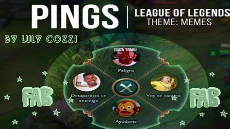Memes Lol - league of legends pings memes tutorial youtube