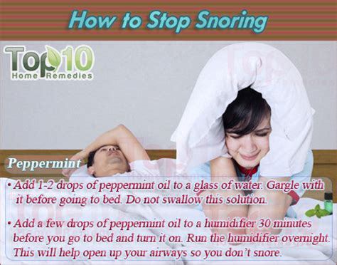 how to stop from home remedies how to stop snoring top 10 home remedies