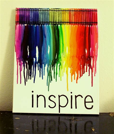 diy crayon crafts 1000 images about crayon canvas on